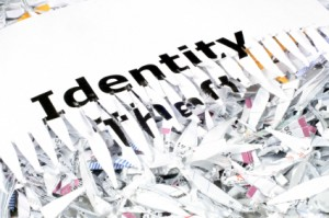 use a shredder to prevent identity theft