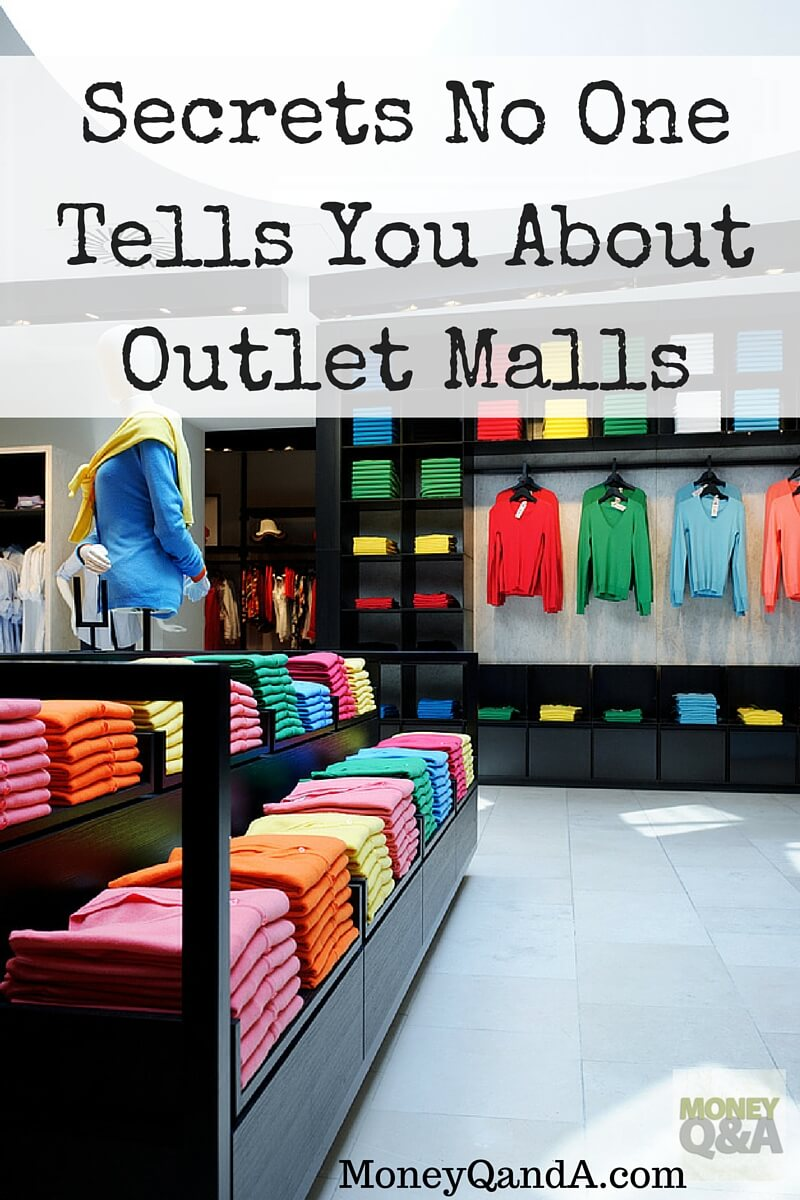 Secrets Shoppers Do Not Know About Shopping At Outlet Malls