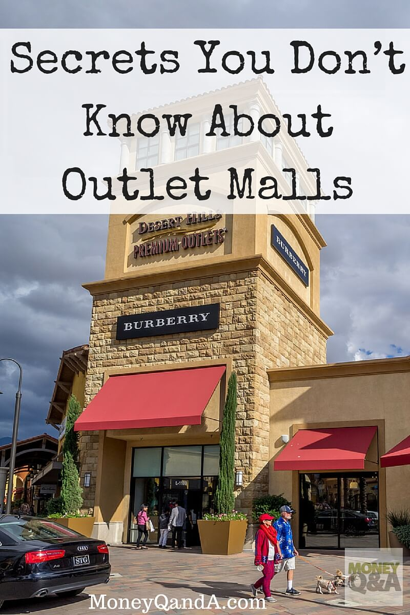 Top 5 Things That You Don't Know About Shopping At Outlet Malls