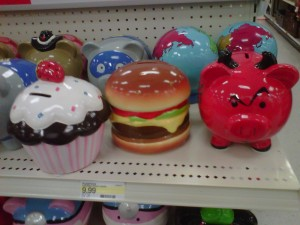 crazy piggybanks help you save money