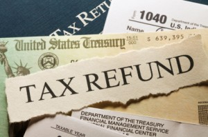 What do you do with a big tax return?