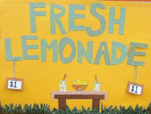 Learn to be a millionaire entrepreneur with a lemonade stand.