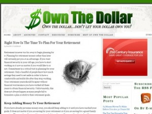 Own The Dollar blog by Hank Coleman