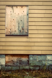 You may need vacant home insurance