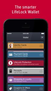 LifeLock Wallet smartphone app