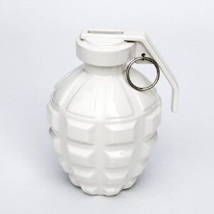 Grenade piggy bank