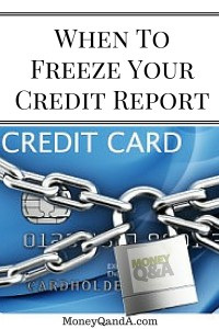 Consider Freezing Your Credit Report