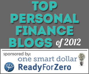 Top Personal Finance Blogs of 2012
