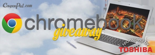 CouponPal & Money Q&A Toshiba Chromebook Giveaway