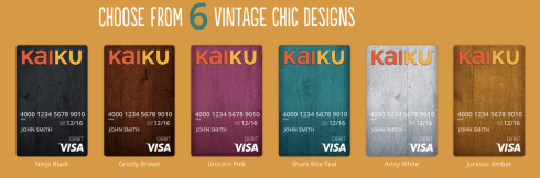 Kaiku Visa Prepaid Card Review
