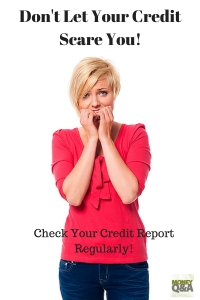Check your credit report often!