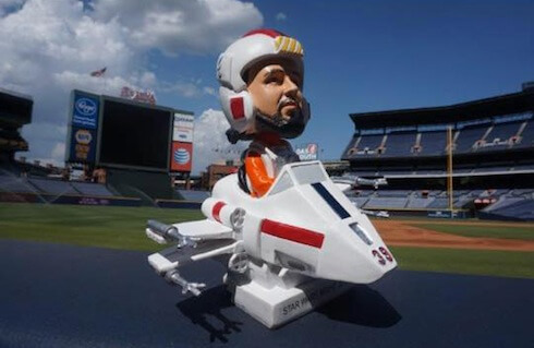 Atlanta Braves Star Wars bobblehead of pitcher Jason Grilli