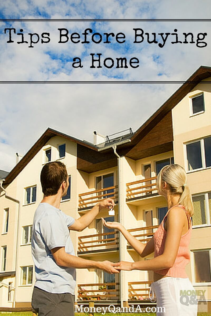 Before Buying A House