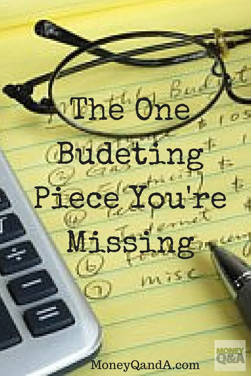 The Most Important Budgeting Tip You Are Forgetting