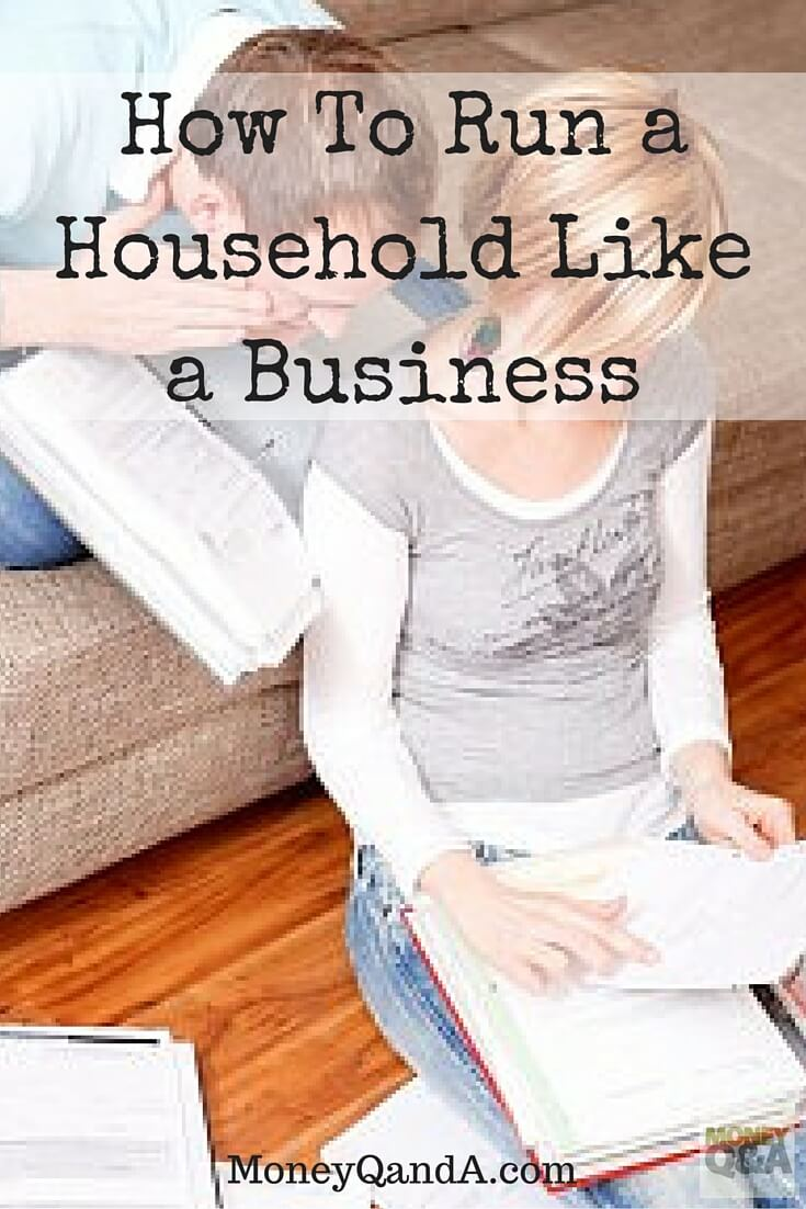 Running a Household Like A Business