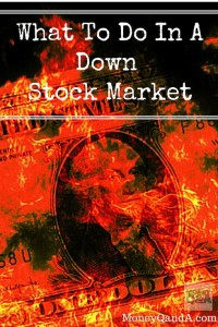 Three Things You Should Do In A Falling Stock Market