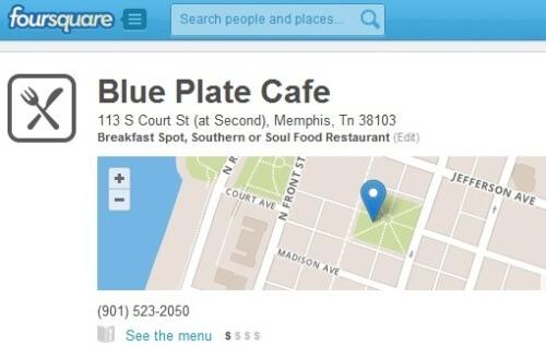 Find me on Foursquare