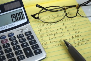 How to set up your first budget
