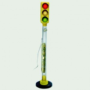traffic light piggy bank to help you save money