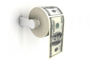 Frugality and using toilet paper like an economist