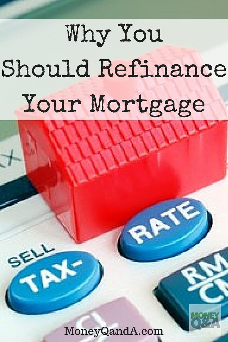 Why I Am Considering Refinancing My Mortgage
