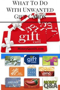 What To Do With Your Unwanted Gift Cards