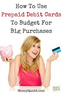 How to use prepaid debit cards for big purchases