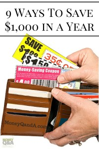 Easy Ideas to Save Money