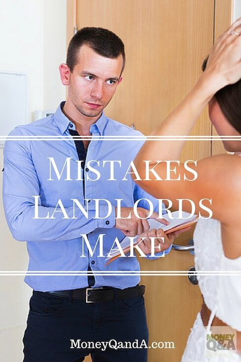 Mistakes Landlords Make