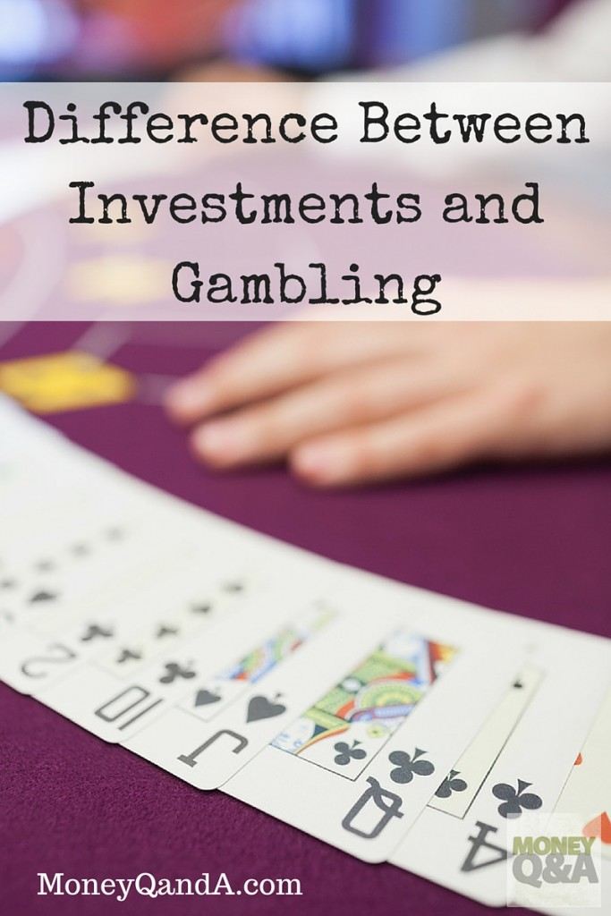 Difference Between Investment And Gambling