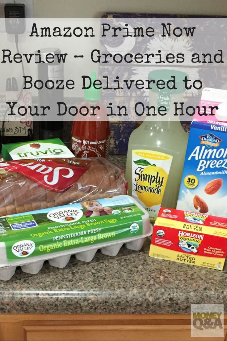Amazon Prime Now Review – Groceries Delivered in One Hour