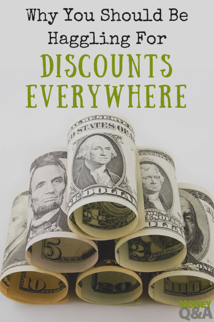 You Should Be Haggling For Discounts