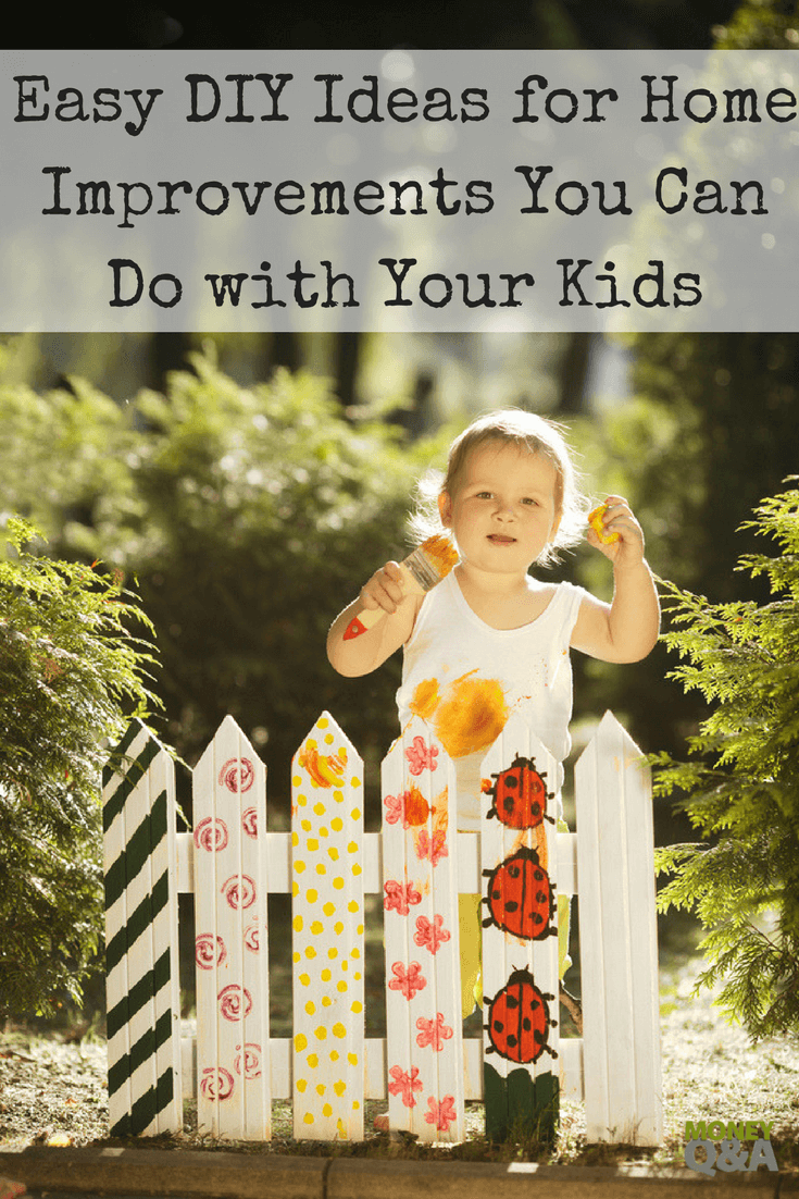 DIY Ideas for Home Improvements - Building with Your Children