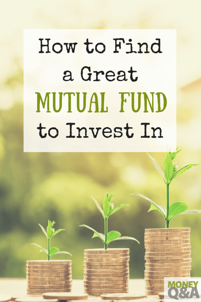 How to Find a Mutual Fund That's Right for You
