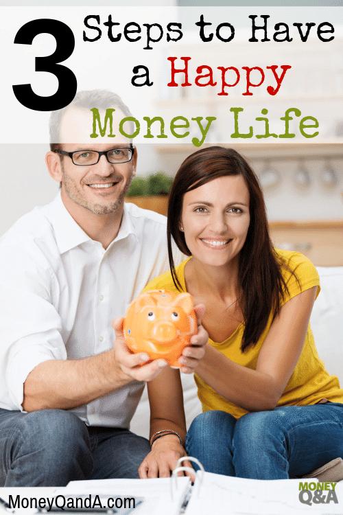 Happy Money Life and Money Stress