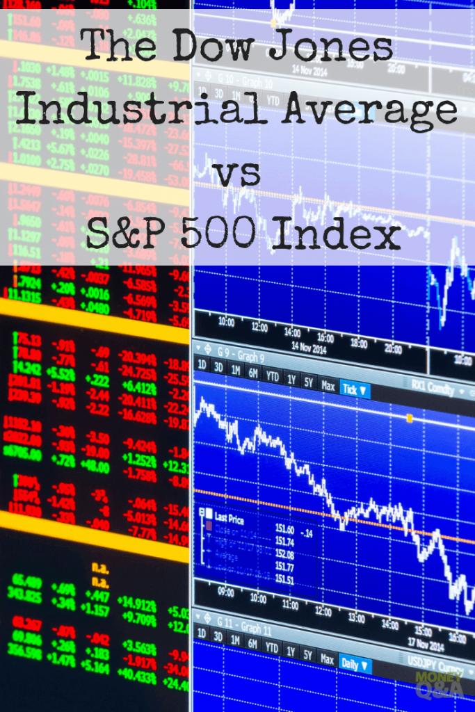 Dow Jones Industrial Average vs S&P 500 Index