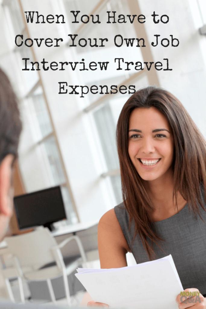 Job Interview Travel Expenses