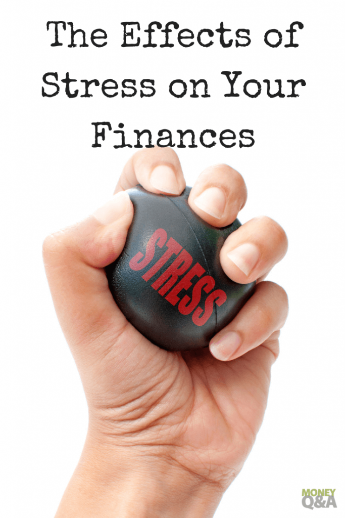 effects of stress on your finances
