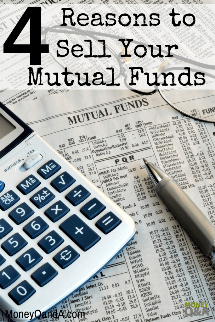 sell mutual funds in your investment portfolio