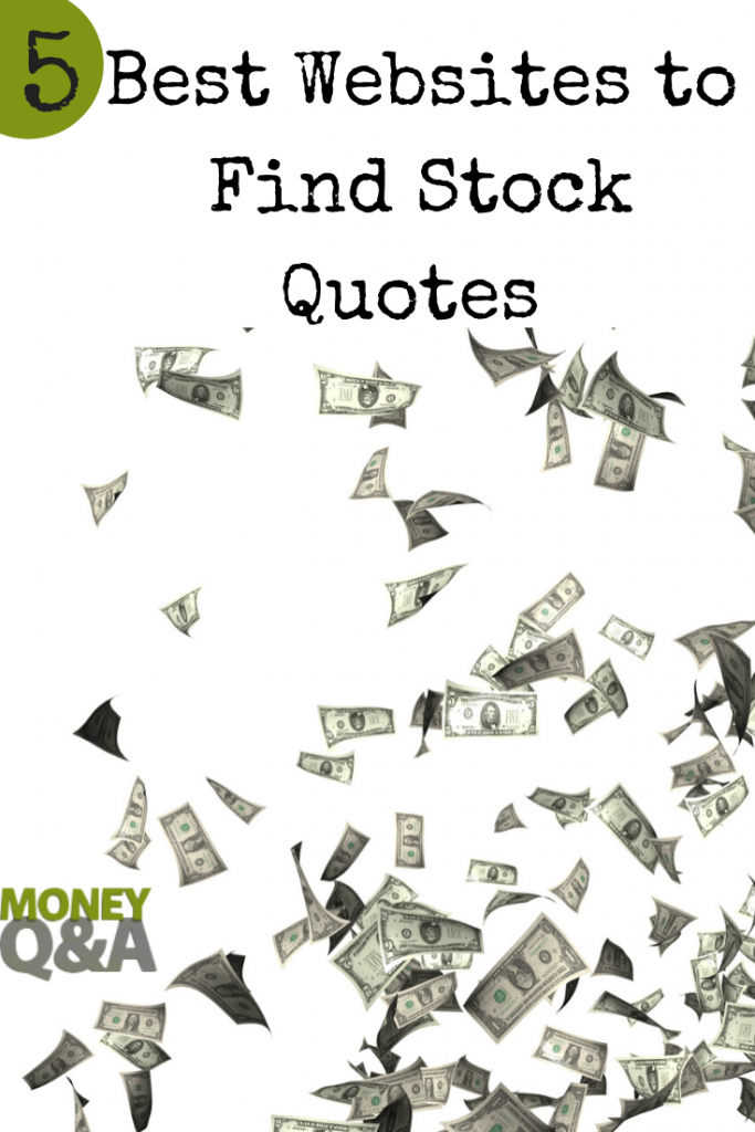 best websites for stock quotes