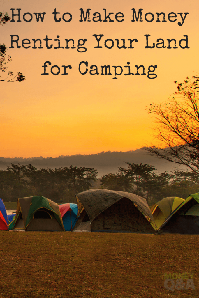 renting your land for camping